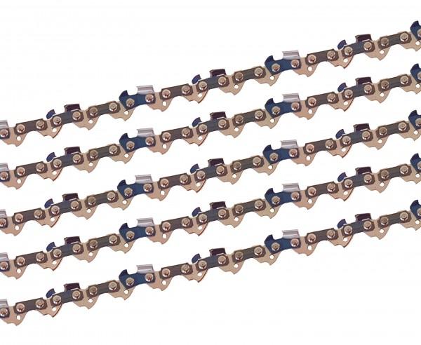5 x gardexx Sägekette für Mr. Gardener BKS 4135 WKS